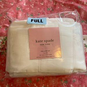 Kate Spade Full Sheet Set